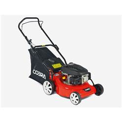 Petrol Rotary Lawnmower - 40cm - Cobra M40C - Free Next Day Delivery*