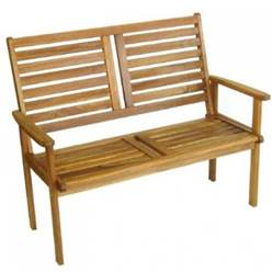 2 SEATER NAPOLI GARDEN BENCH - Free Next Working Day Delivery (Mon-Fri)