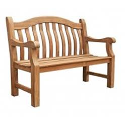 2 SEATER FSC TEAK BALMORAL GARDEN BENCH - Free Next Working Day Delivery (Mon-Fri)