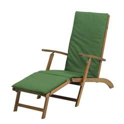 Napoli Steamer Chairs inc IVORY cushion - Free Next Working Day Delivery (Mon-Fri)