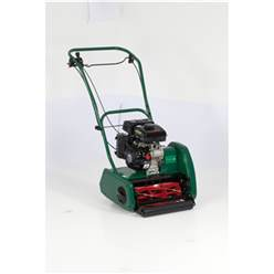 Allett Classic 17L Petrol Cylinder 43cm Lawnmower - Free Next Day Delivery & Free Oil*